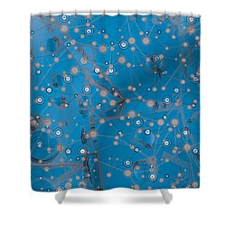 Bell-shaped Flowers Shower Curtain