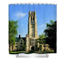 Bell Tower At The University Of Toledo Shower Curtain