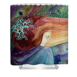 Bella Aurora Shower Curtain