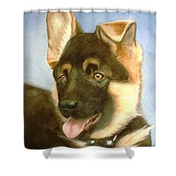 Bella Shower Curtain by Marilyn Jacobson