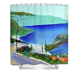Bella Monaco  Shower Curtain