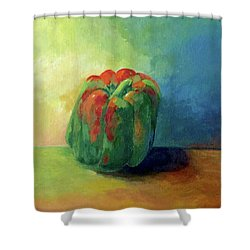 Bella Pepper  Shower Curtain