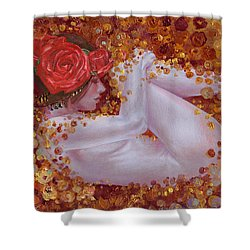 Bella Rose Shower Curtain