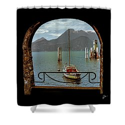 Bella Varenna - For Print Or Wrapped Canvas Shower Curtain