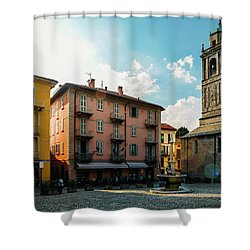 Bellagio, Lake Como, Italy. Shower Curtain