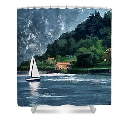 Bellagio Villa Shower Curtain