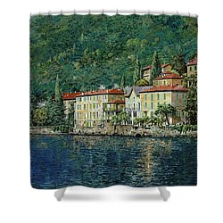 Bellano On Lake Como Shower Curtain