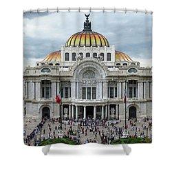Bellas Artes Shower Curtain