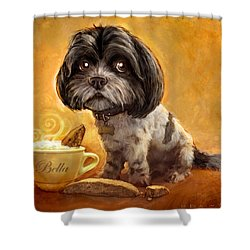 Bella's Biscotti Shower Curtain