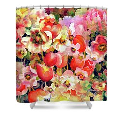 Belle Fleurs II Shower Curtain