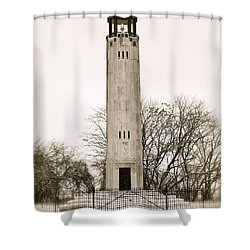 Belle Ilse Light  Shower Curtain
