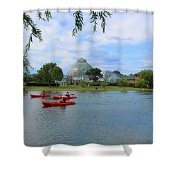 Belle Isle Conservatory Shower Curtain