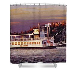Belle Of Beaumont Shower Curtain