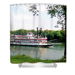 Belle Of Cincinnati  Shower Curtain