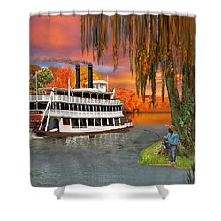 Belle Of The Bayou Shower Curtain