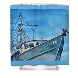 Belle Original Shower Curtain