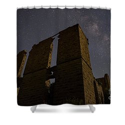 Belle Plain College - Texas Shower Curtain by Keith Kapple
