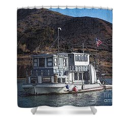 Bellena Shower Curtain by Randy Sprout