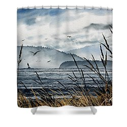Bellingham Bay Shower Curtain by James Williamson
