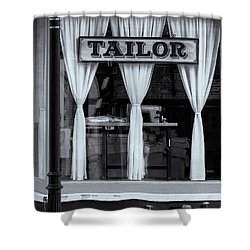 Bellows Falls Tailor Shower Curtain by Tom Singleton