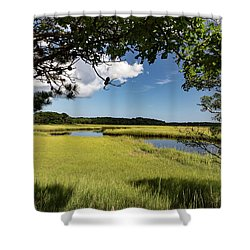 Bells Neck Road Shower Curtain