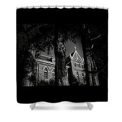 Belmont Abbey Shower Curtain