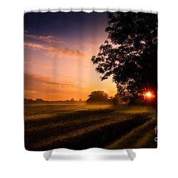 Beloved Land Shower Curtain