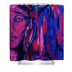 beloved Nanye Shower Curtain by Dawn Fisher