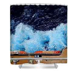 Below Deck Shower Curtain