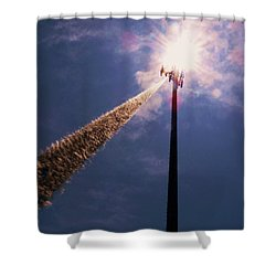 Shower Curtain featuring the photograph Beltsville by Robert Geary