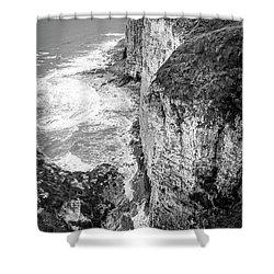 Bempton Cliffs Shower Curtain