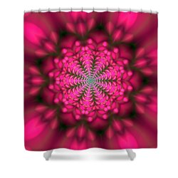 Shower Curtain featuring the digital art Ben 9 Beats 2 by Robert Thalmeier