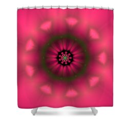 Shower Curtain featuring the digital art Ben 9 by Robert Thalmeier