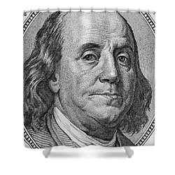 Shower Curtain featuring the photograph Ben Franklin by Les Cunliffe