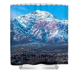 Ben Lomond At Dusk Shower Curtain