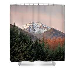 Ben Lui Sunrise Shower Curtain