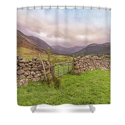 Shower Curtain featuring the photograph Ben Nevis Mountain Range by Roy McPeak