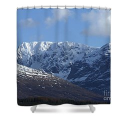 Ben Nevis North Face Shower Curtain