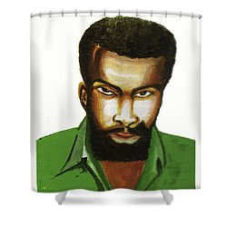 Ben Okri Shower Curtain