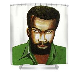 Ben Okri Shower Curtain