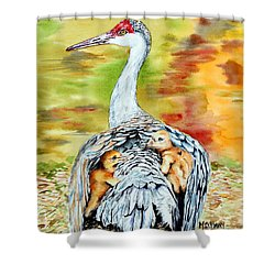 Beneath My Wings Shower Curtain