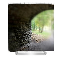 Beneath The Bridge Shower Curtain