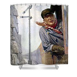 Beneker: The Engineer, 1913 Shower Curtain by Granger