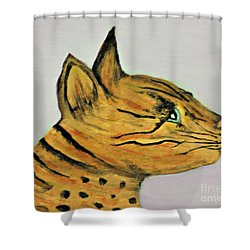 Bengal Cat  Shower Curtain