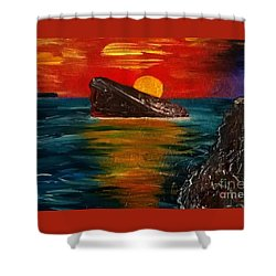 Benidorm Shower Curtain