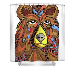 Benjamin Bear Shower Curtain