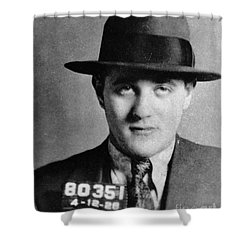 Benjamin Bugsy Siegel Shower Curtain