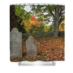 Benjamin Butler Grave Shower Curtain