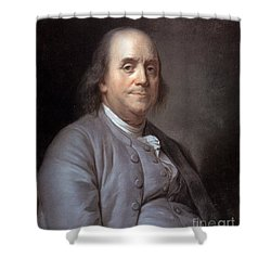 Benjamin Franklin Shower Curtain by Granger
