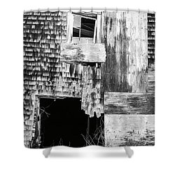 Benjamin Nye Homestead Shower Curtain